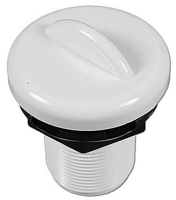 "Balboa Water Group Top Access 1"" Air Control White"