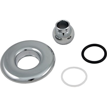 Balboa Water Group Slimline Jet Chrome Escutcheon Kit