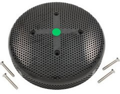 "6"" VGB Compliant Drain Cover With Screws (Black)"