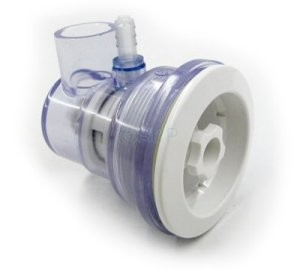 "Balboa Water Group Caged Freedom Series  3/4"" Slip x 3/8"" Barb Adjustable (Same Side) Jet Assembly"