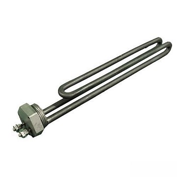 "Heating Element 5.5 KW 1"" Thread x 9-3/4"" No T-Wells 240 Volts"
