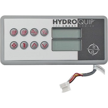 HT-2 Series Hydro Quip Spa-side Control With 25' Cord 34-0189
