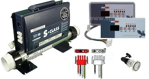 Gecko SSPA Control Box Bundle With TSC-18 Topside Control 3-73-2500