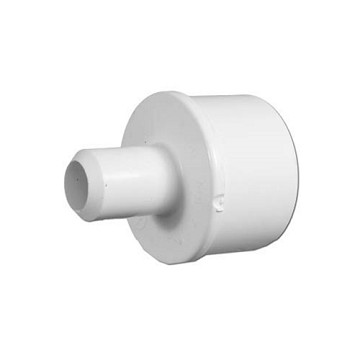 "413-4360 Waterway PVC Barbed Adapter 1-1/2"" Spig x 3/4"" Barb"