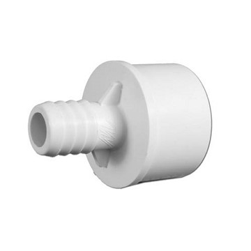 "413-4370 Waterway PVC Barbed Adapter 1-1/2"" Spig x 3/4"" Barb"