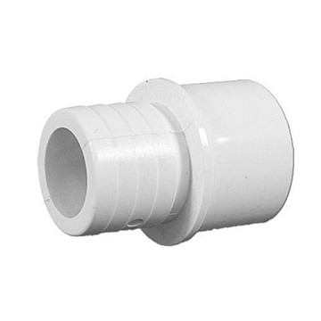 "425-1010 Waterway PVC Barbed Adapter 3/4"" Slip x 1"" Spig x 1"" Barb"