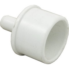 "425-5010 Waterway PVC Barbed Adapter 1"" Spigot x 3/8"" Barb"
