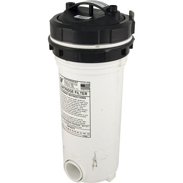 "Waterway Top Load 25 Sq. Ft Filter With Bypass Valve And 10 Tablet Brominator 18"" Tall 1.5"" Socket"