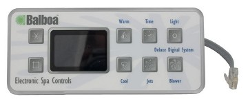 Balboa Water Group Serial Deluxe Digital Topside Control 51058