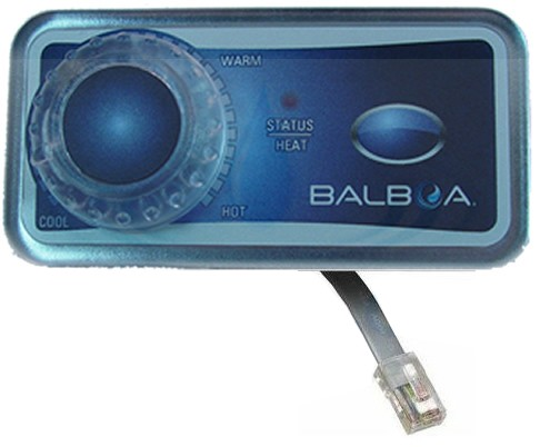 Balboa Water Group Analog Duplex 1-Button with T-Stat Knob 51219