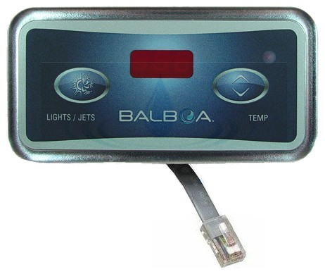 Balboa Water Group 6 Conductor Lite Leader Spa Side Control 54116
