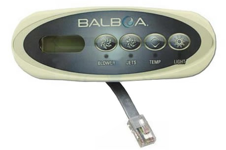 Balboa Water Group 4 Button VL200 LCD Mini Oval 53676_11095