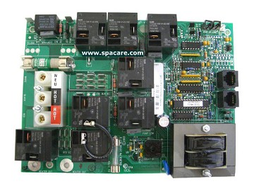 Coleman Spa Circuit Board 52357