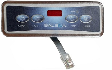Balboa Water Group LCD Lite Duplex Digital VL401 Topside Control 54094