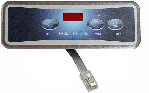Balboa Water Group LCD Lite Duplex Digital Topside Control 54135