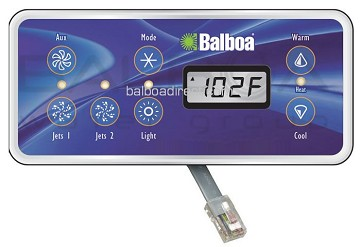 Balboa Water Group Serial Standard Digital Top Side Control 54170