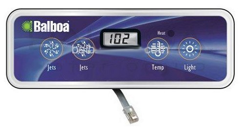 Balboa Water Group LCD Lite Duplex Digital VL401 Topside Control 54251