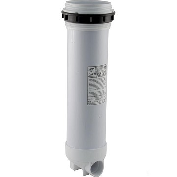 "Waterway Top Load Filter Extended Filter Body 2"" Slip With By Pass Valve"