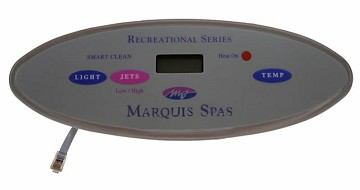 Marquis Topside Control 1 Pump Leisure Series 650-0423