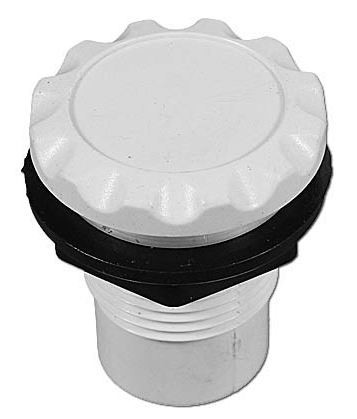 Waterway Scalloped Air Control White 660-3100