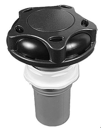 "Waterway Air Control 1"" Revo Black/Gray 660-3539DSG-1"