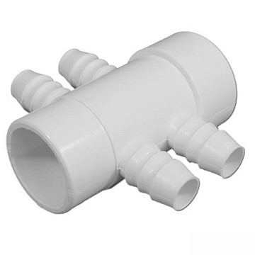 "Balboa Water Group 4 Port 3/4"" Barb Manifold 72044"