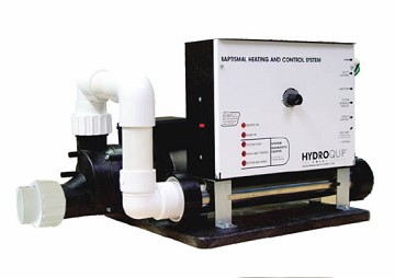 Hydro Quip 5.5 KW Baptistery Equipment Pack No Timer