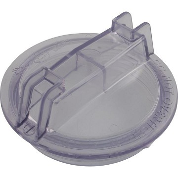 "Sta-Rite Dura and Maxi Glas 5"" Trap Cover (Clear)"