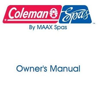Coleman Spas Owners Manual