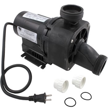 Balboa Water Group Gemini Plus II 1.0HP 120V 50/60Hz W/Air Switch & Cord (NR3A-C)