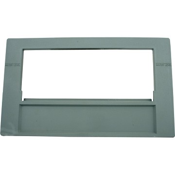 Waterway Front Access Front  Plate 100 Sq. Ft (Gray)