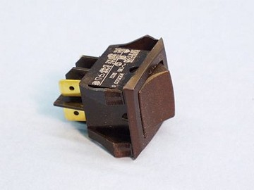 Rocker Switch DPDT 6 Terminals