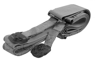 The Heavy Duty High Wind Spa Cover Secure Straps (Gray)