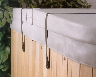 Spa Cover Secure Straps