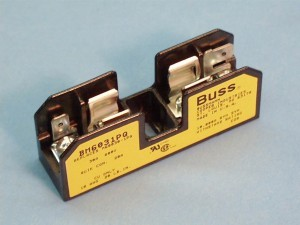 Buss Fuse Holder For 20 Amp Slow Blow SC Style Fuse Class G