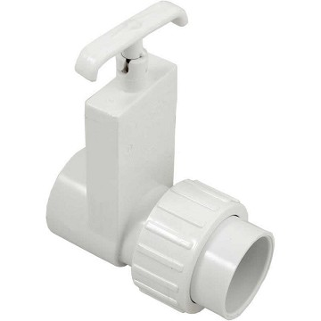 "Magic Plastic Uni-Body Valve - 1-1/2"" Slip x 1-1/2"" Union Slip"