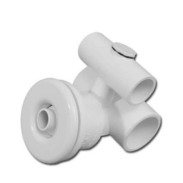 "Balboa Water Group Slimline Jet 1"" Water x 1/2"" Air (1-3/4"" Wall Fitting)"