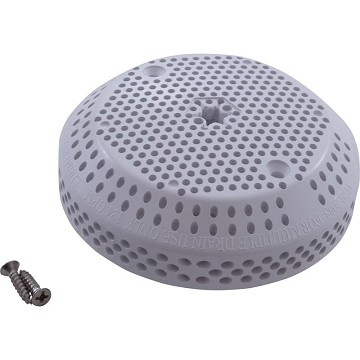 G&G Suction Fitting Drain Cover 30173U-WH