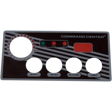 Tecmark Command Center 4 Button Overlay With Display
