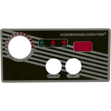 Tecmark Command Center 2 Button Overlay With Display