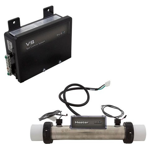 Balboa Water Group® VS100 120/220 Volt Control Box With 1.0/4.0 KW Heater Assembly 54808