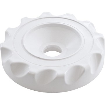 Waterway Diverter Scalloped Valve Cover (White)
