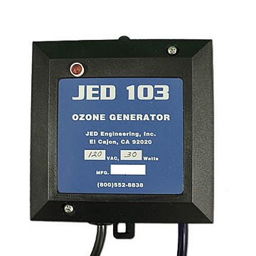 JED Corona Discharge Ozonator 120 Volts JED103